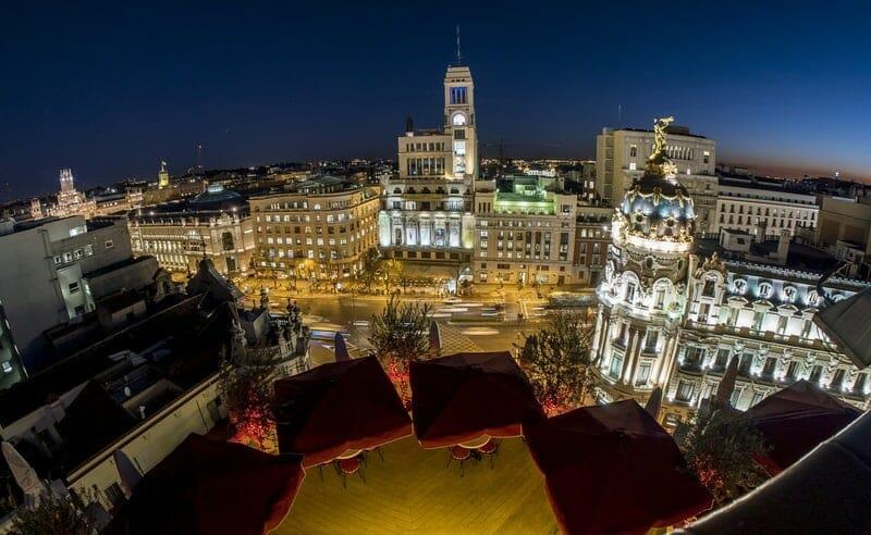 Gran via Madrid Luxury
