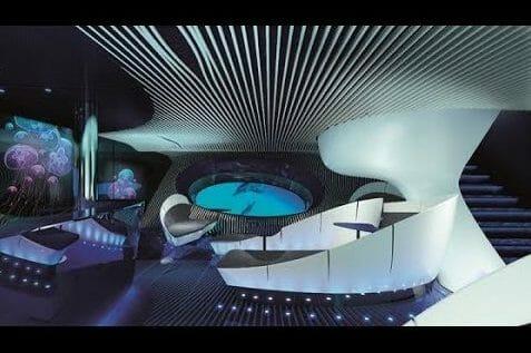 underwater lounge