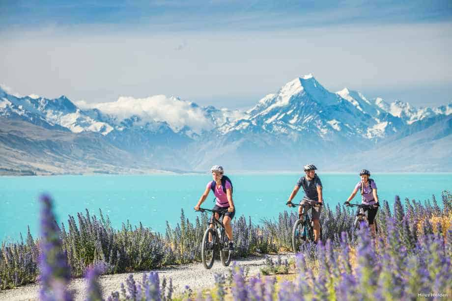 Top cycling trail New Zealand