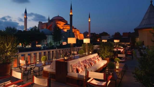 Sultanahmet best roof terrace