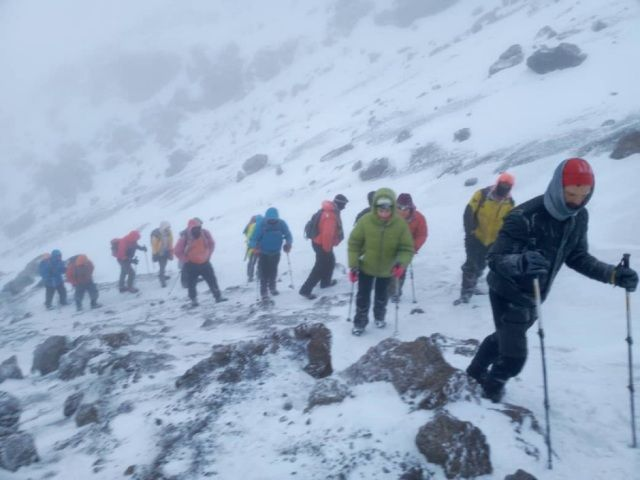 When is the best time of the year to summit Kiliamanjaro and avoid the kilimanjaro crowds but with an ideal Kili climate